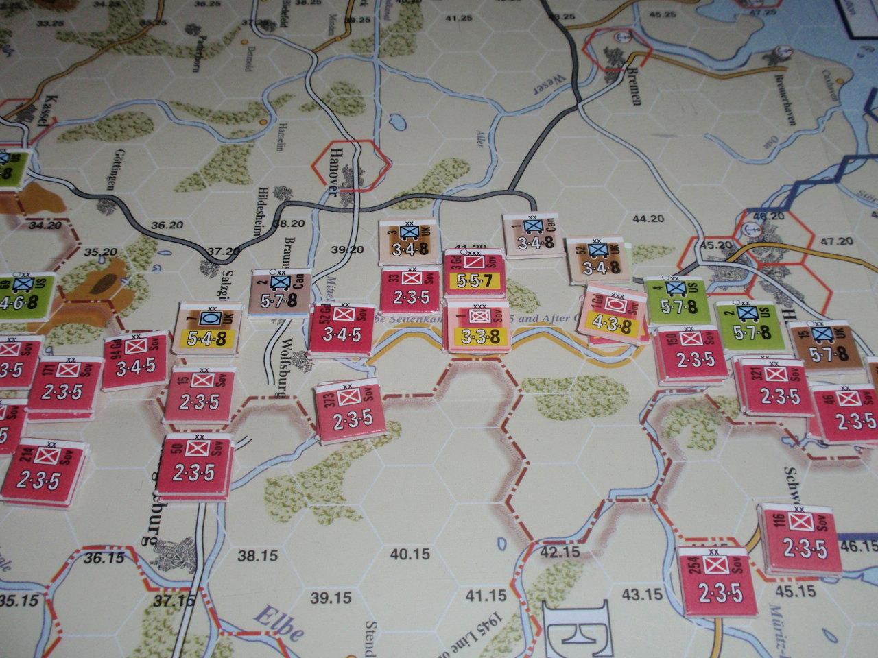 MMP/Gamers「Iron Curtain」より「1945年ソ連軍先制」シナリオをソロプレイ④_b0162202_11320768.jpg