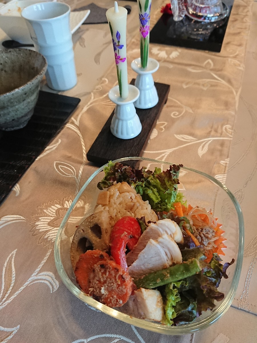 「優しい時間」4月の料理教室が終了致しました。_f0323446_18443394.jpg