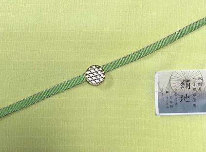 杉村・マジョルカ 桔梗円文袋帯・前太鼓2パターン。_f0181251_18102927.jpg
