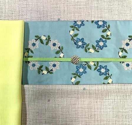 杉村・マジョルカ 桔梗円文袋帯・前太鼓2パターン。_f0181251_18114296.jpg