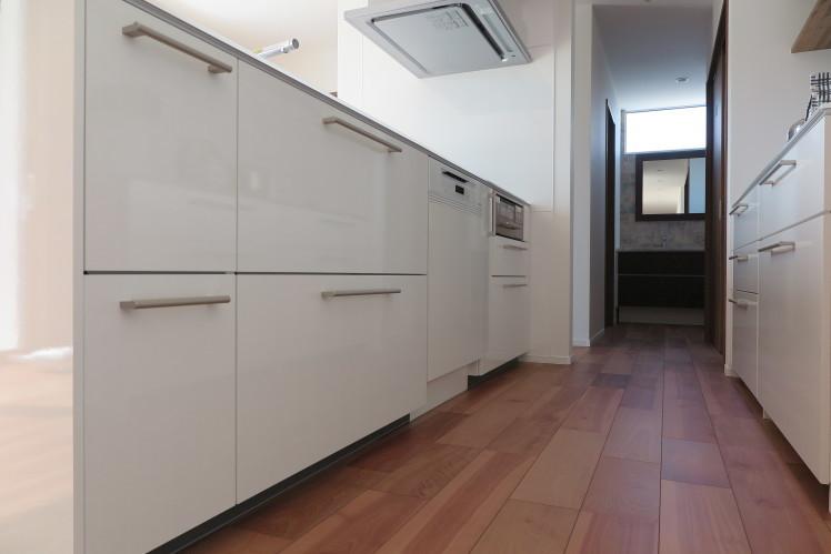 いまやキッチンに欠かせない食洗機。★TOTO ザ・クラッソ取付事例_c0156359_13020136.jpg