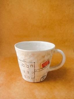 めいポタ 鈴木明美さんの即完売だった白い壁シリーズの新作のマグカップと定番で大人気のマグカップと中皿が超待望の再入荷!!!_b0225561_16314949.jpg