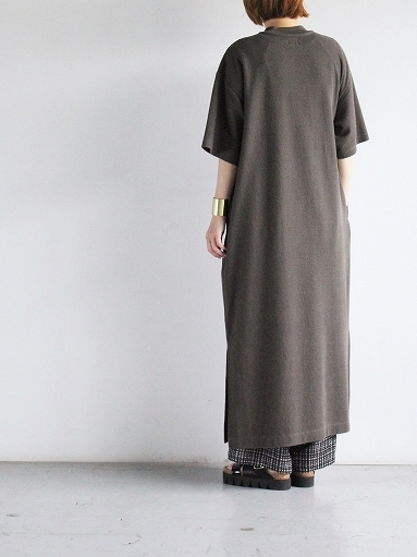 blurhms ROOTSTOCK Rough&Smooth Thermal Dress S/S_b0139281_15320625.jpg