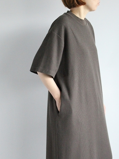 blurhms ROOTSTOCK Rough&Smooth Thermal Dress S/S_b0139281_15320732.jpg