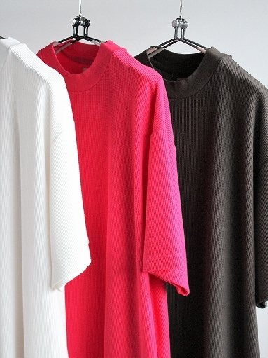 blurhms ROOTSTOCK Rough&Smooth Thermal Dress S/S_b0139281_15320764.jpg