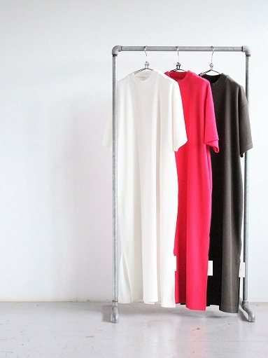 blurhms ROOTSTOCK Rough&Smooth Thermal Dress S/S_b0139281_15320769.jpg