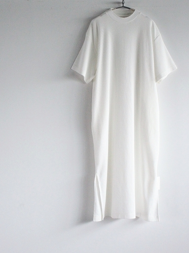 blurhms ROOTSTOCK Rough&Smooth Thermal Dress S/S_b0139281_15320791.jpg