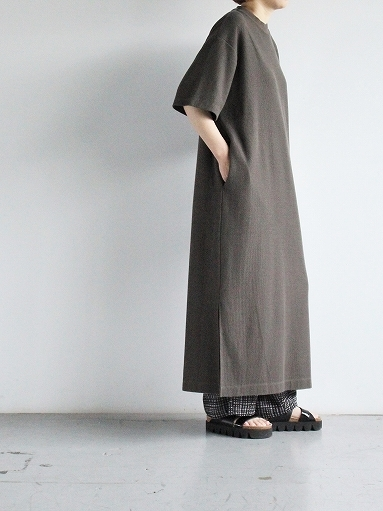 blurhms ROOTSTOCK Rough&Smooth Thermal Dress S/S_b0139281_15320852.jpg