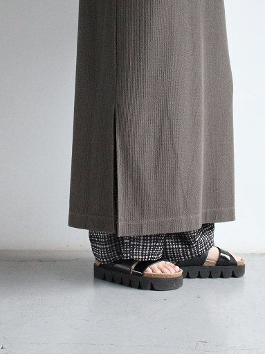 blurhms ROOTSTOCK Rough&Smooth Thermal Dress S/S_b0139281_15320868.jpg