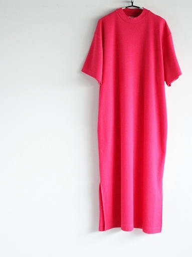 blurhms ROOTSTOCK Rough&Smooth Thermal Dress S/S_b0139281_15333624.jpg