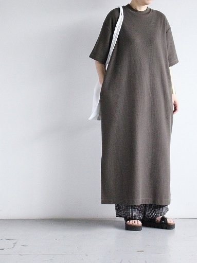 blurhms ROOTSTOCK Rough&Smooth Thermal Dress S/S_b0139281_15333674.jpg