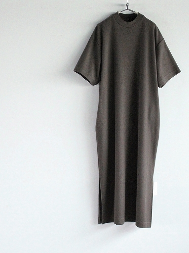 blurhms ROOTSTOCK Rough&Smooth Thermal Dress S/S_b0139281_15333774.jpg