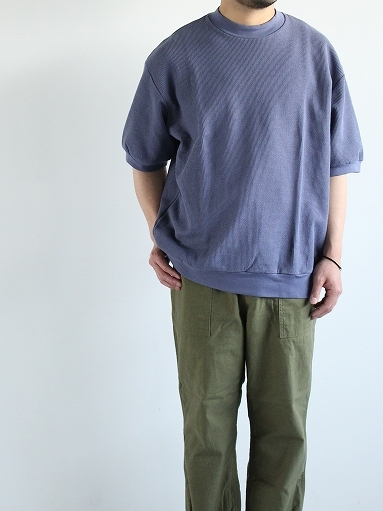 blurhms ROOTSTOCK Rough&Smooth Thermal Pullover S/S_b0139281_16563586.jpg