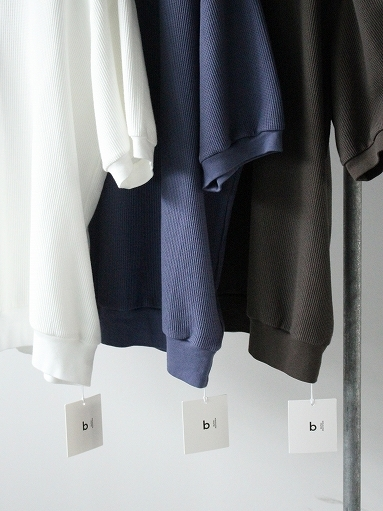 blurhms ROOTSTOCK Rough&Smooth Thermal Pullover S/S_b0139281_16563606.jpg