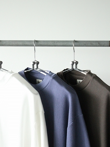 blurhms ROOTSTOCK Rough&Smooth Thermal Pullover S/S_b0139281_16563621.jpg