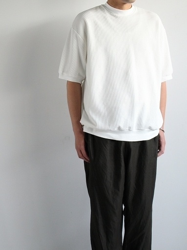 blurhms ROOTSTOCK Rough&Smooth Thermal Pullover S/S_b0139281_16563634.jpg
