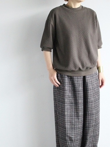 blurhms ROOTSTOCK Rough&Smooth Thermal Pullover S/S_b0139281_16571256.jpg