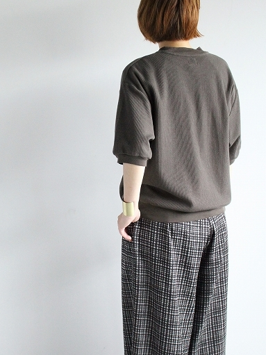blurhms ROOTSTOCK Rough&Smooth Thermal Pullover S/S_b0139281_16584040.jpg