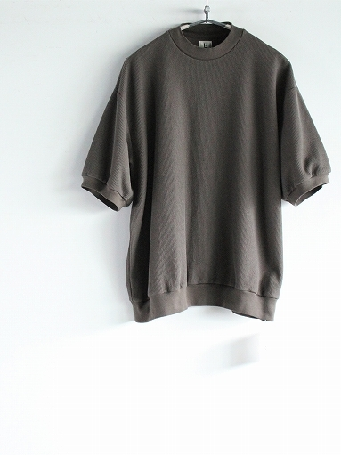 blurhms ROOTSTOCK Rough&Smooth Thermal Pullover S/S_b0139281_16593866.jpg