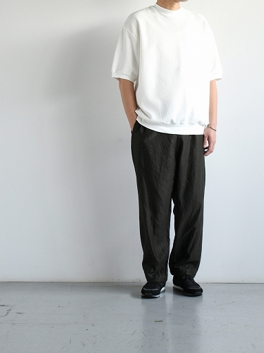 blurhms ROOTSTOCK Rough&Smooth Thermal Pullover S/S_b0139281_17002814.jpg
