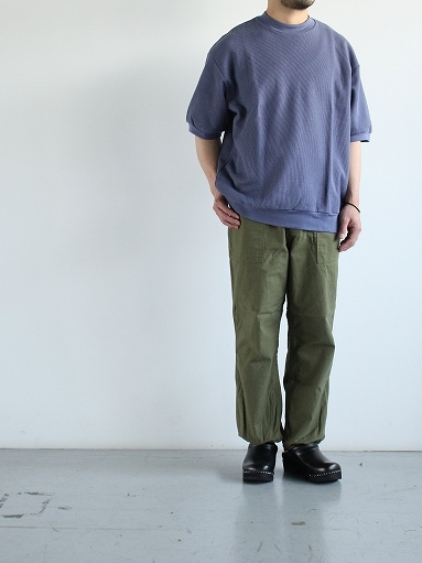 blurhms ROOTSTOCK Rough&Smooth Thermal Pullover S/S_b0139281_17002872.jpg