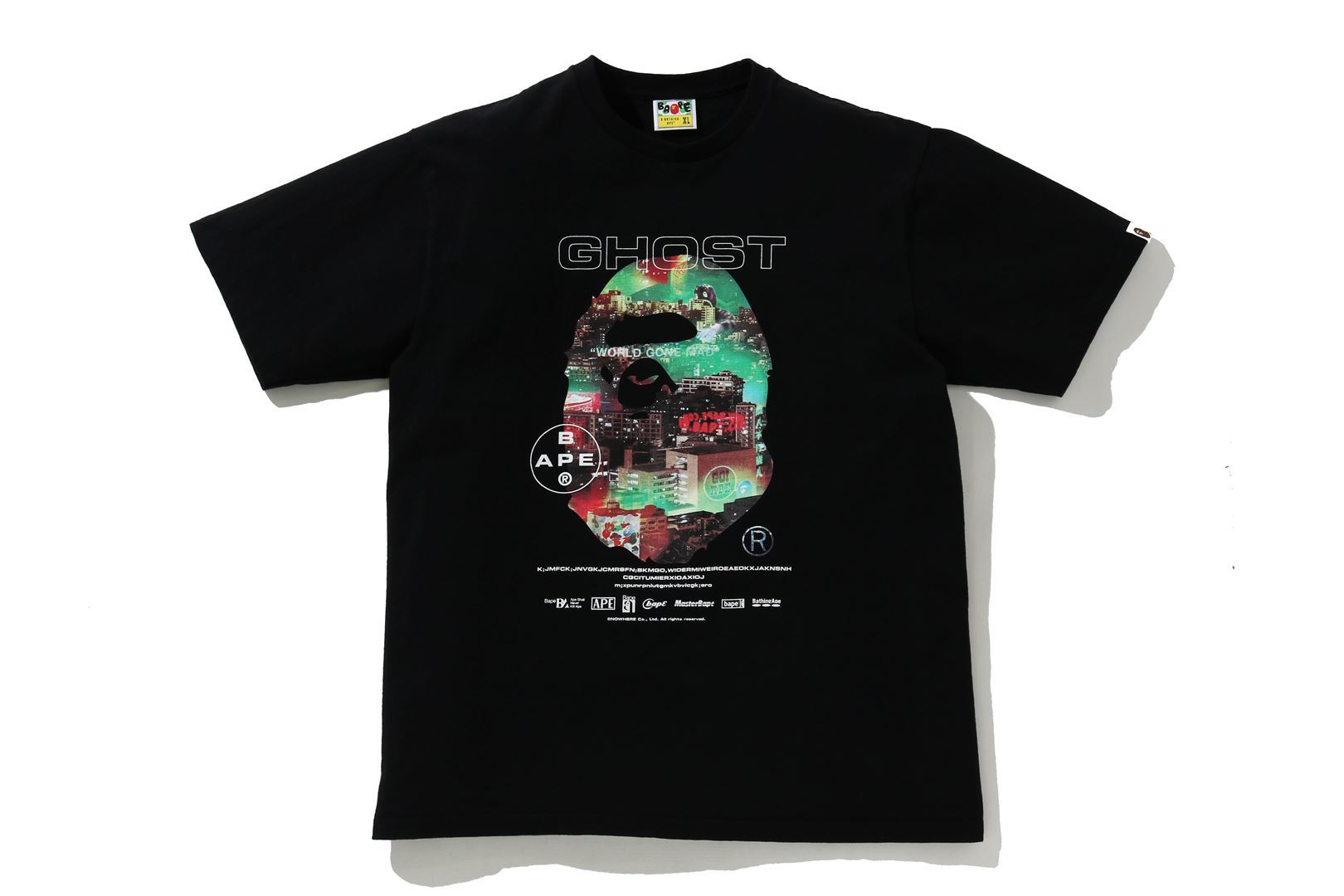 A BATHING APE® GHOST 2 RELAXED TEE_a0174495_12335982.jpg