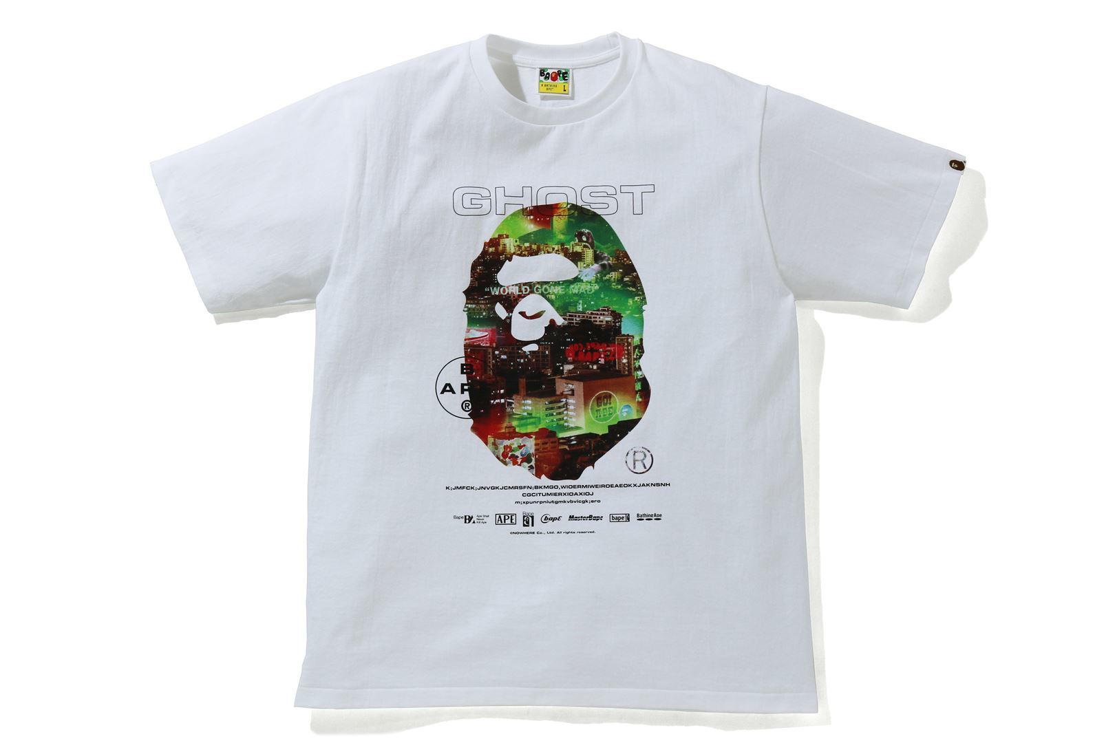 A BATHING APE® GHOST 2 RELAXED TEE_a0174495_12342078.jpg