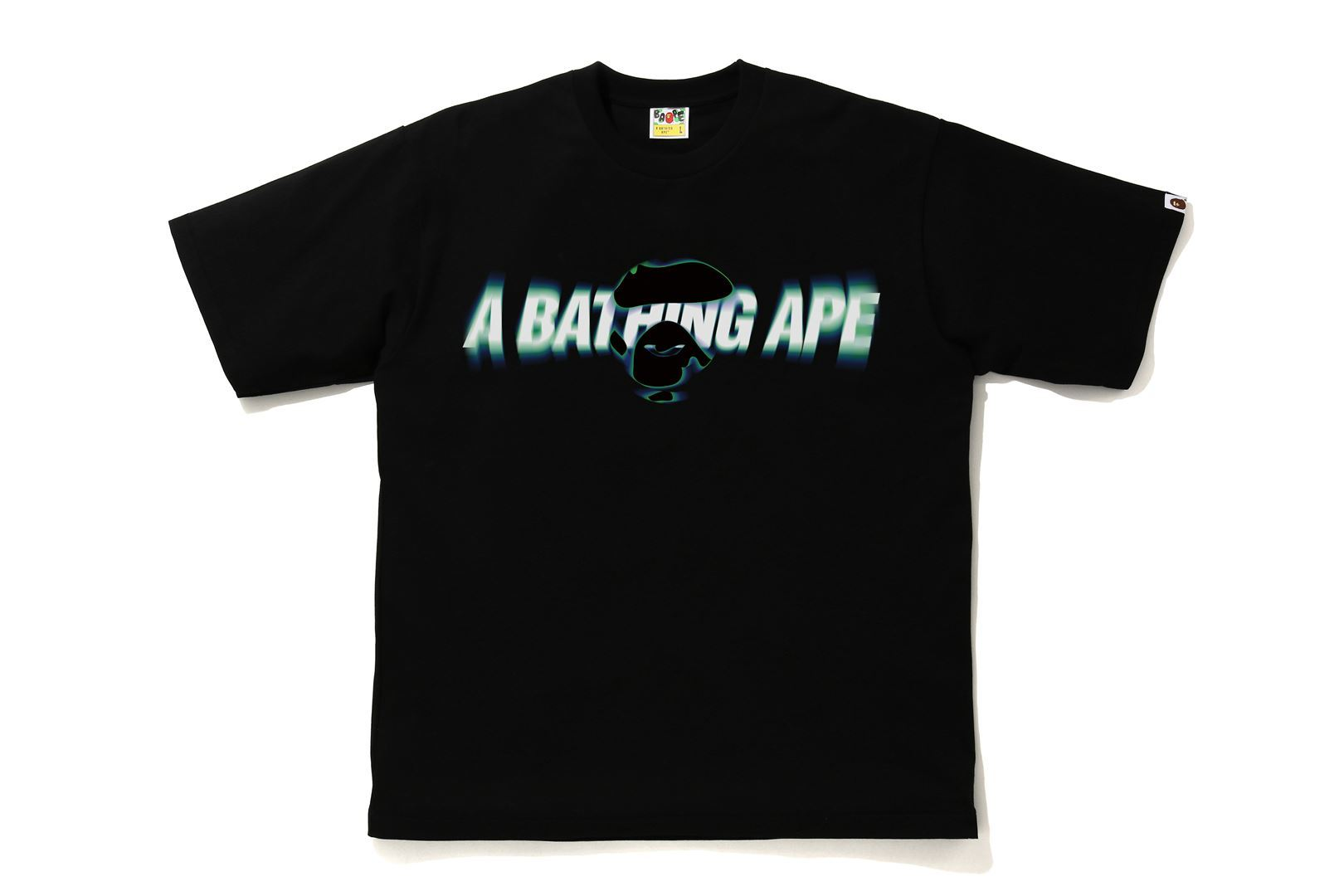 A BATHING APE® BLUR RELAXED TEE_a0174495_12350719.jpg