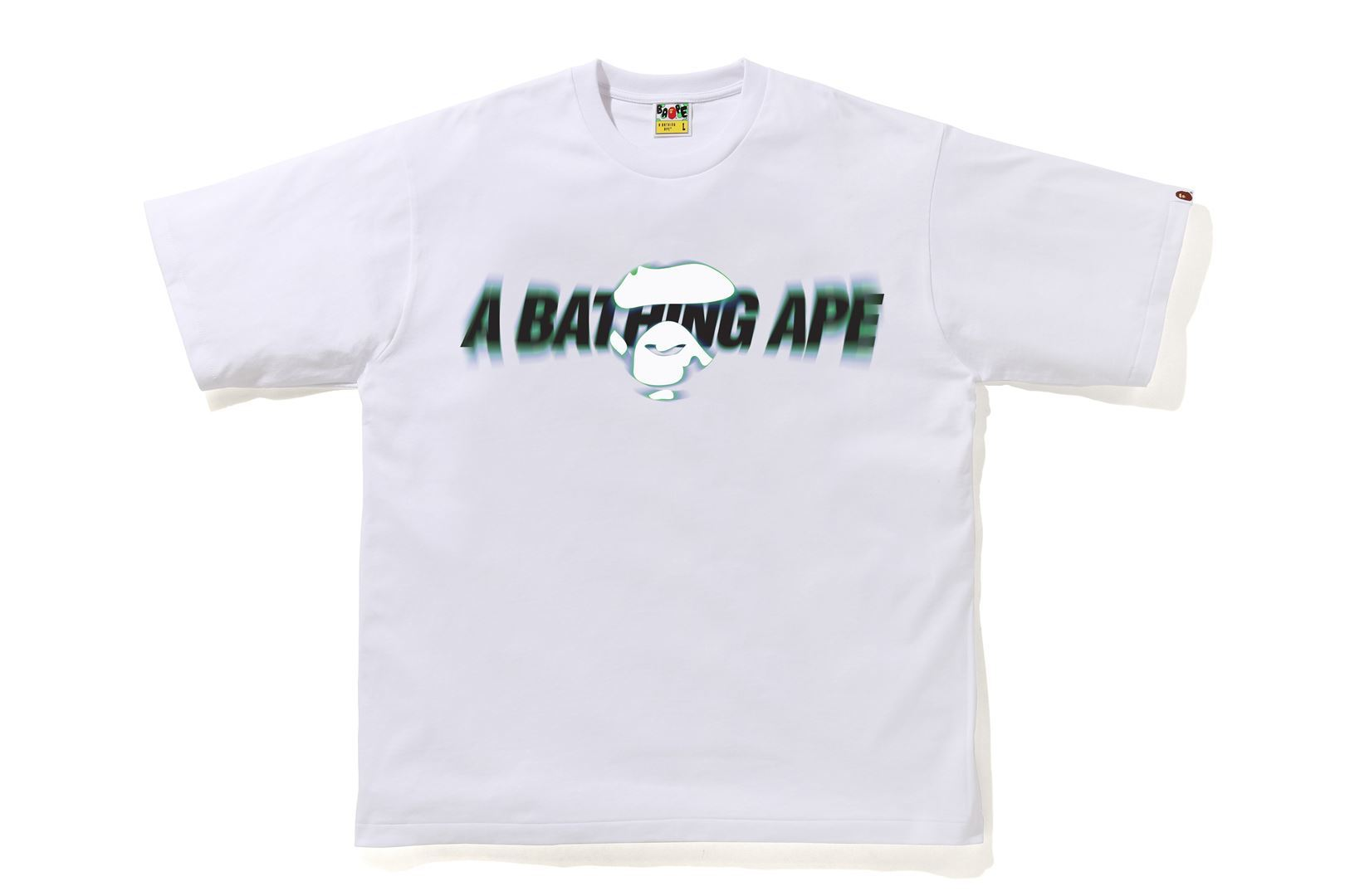A BATHING APE® BLUR RELAXED TEE_a0174495_12352419.jpg