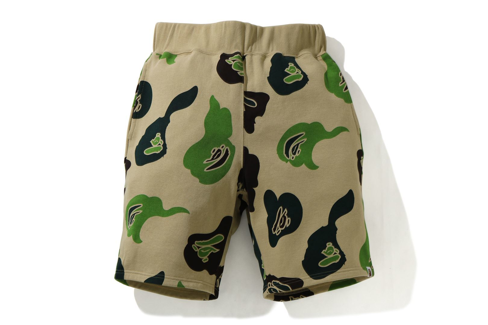 DEF CAMO WIDE SWEAT SHORTS_a0174495_12475494.jpg