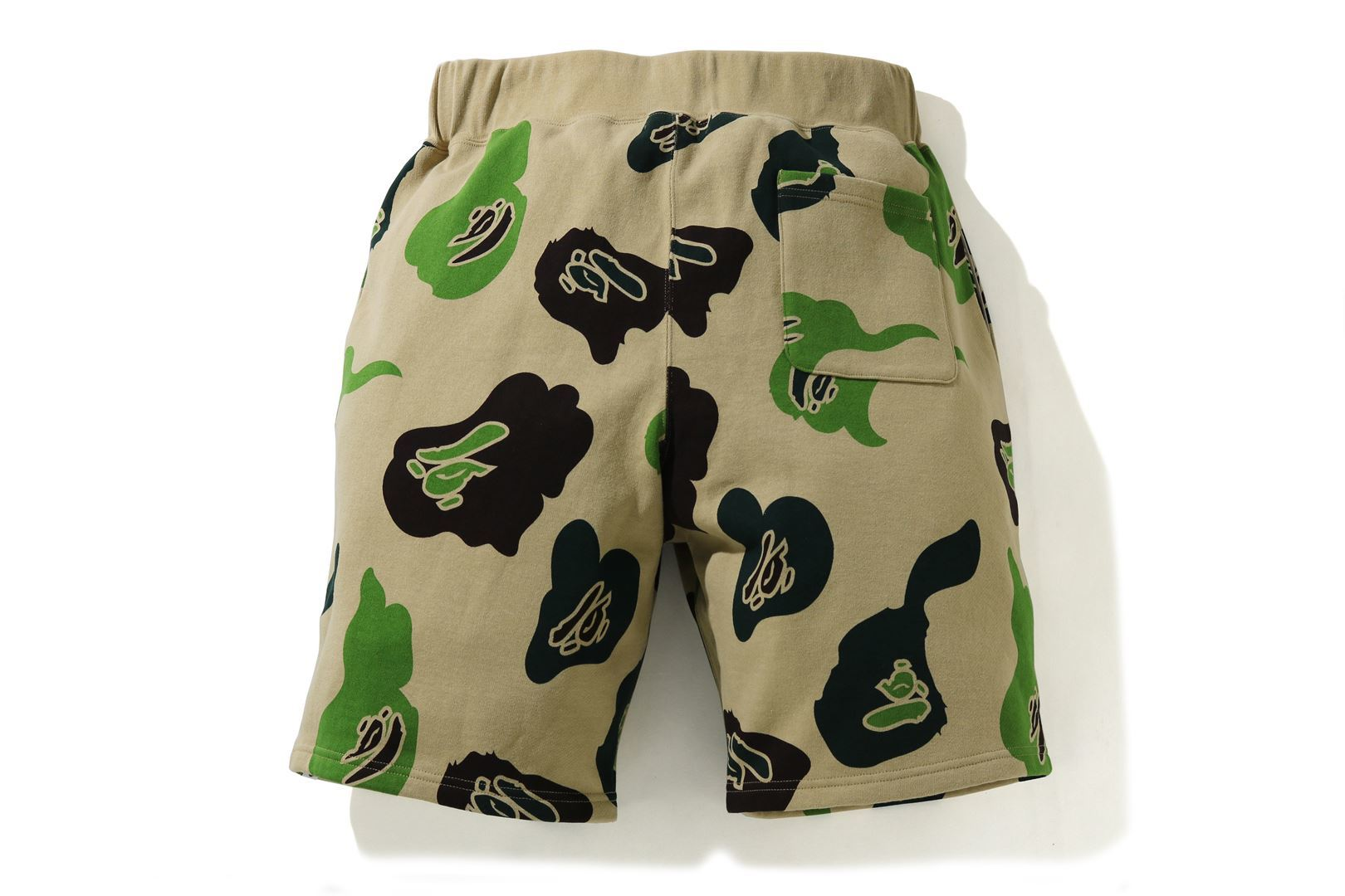DEF CAMO WIDE SWEAT SHORTS_a0174495_12480146.jpg