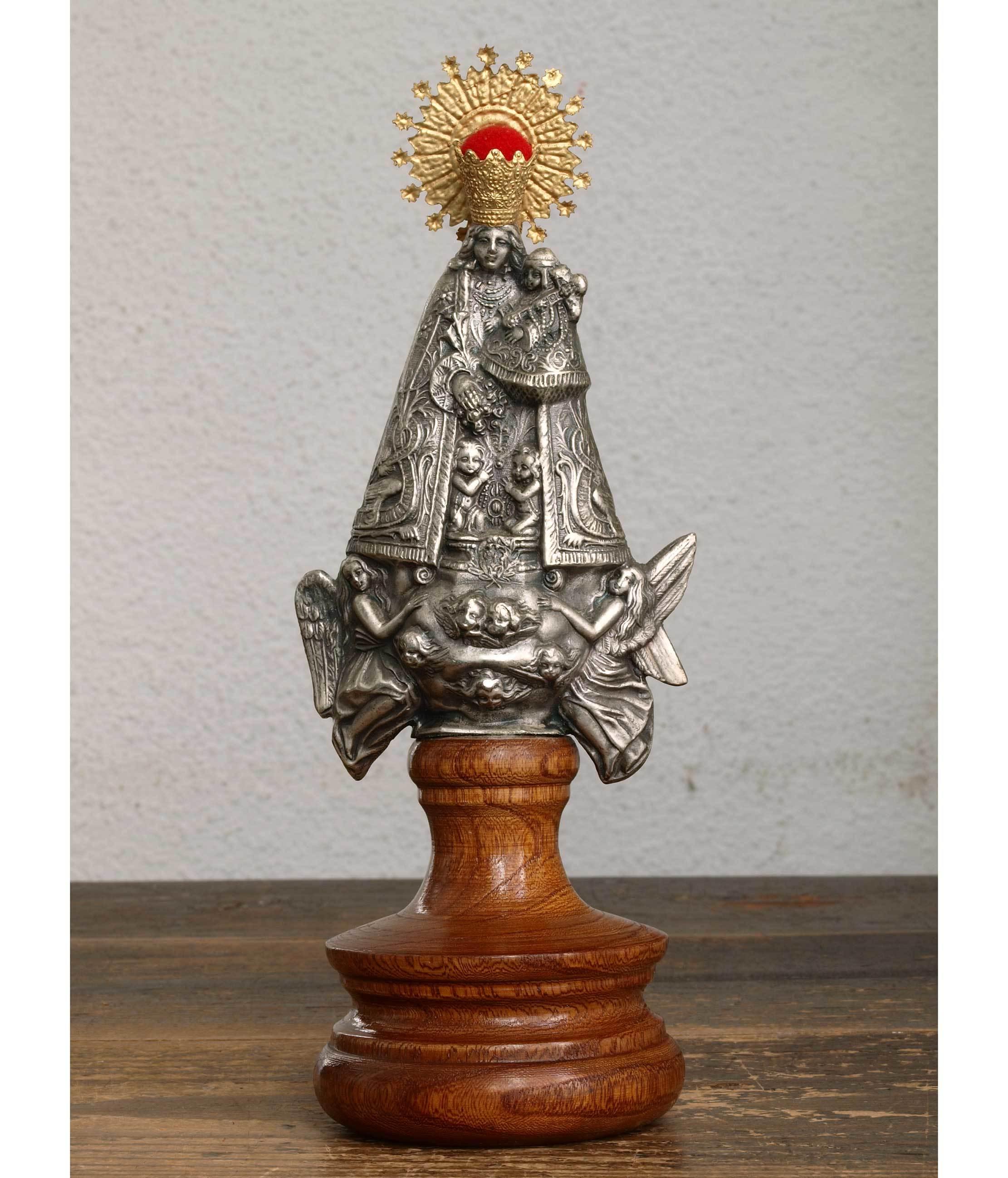 無力の聖母 マリアと幼子  23.5cm  /H379_e0324838_01262903.jpg