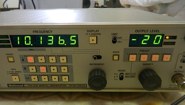 10.136MHz FT8 QRVを目指して−10MHzクリコンの整備調整_f0205744_20433232.jpg