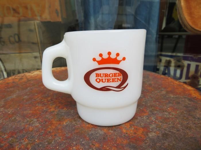Fire King Advertising Mug BURGER QUEEN_e0187362_15384128.jpg