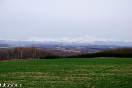 まだ雪残る就実の丘~4月_d0340565_20175758.jpg