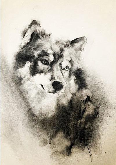 木炭犬_e0195115_16370515.jpg