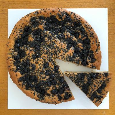 黒糖黒豆黒ごまケーキ_b0102217_17065235.jpg