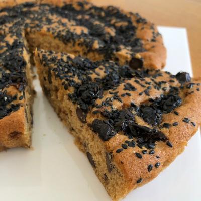 黒糖黒豆黒ごまケーキ_b0102217_17071780.jpg