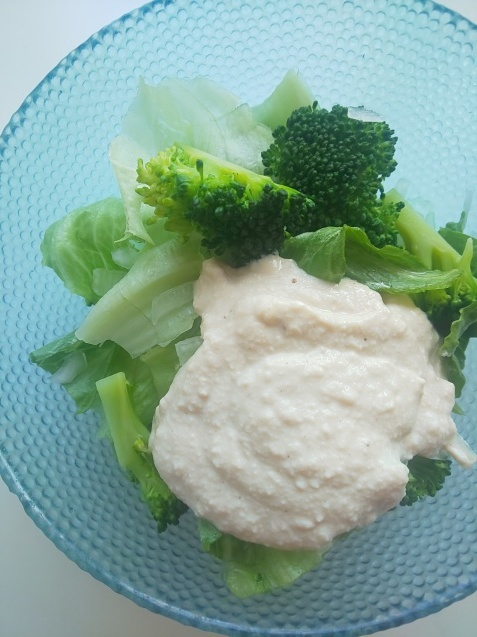 食品ロスを減らす❗豆腐でドレッシング_c0124528_08052754.jpg