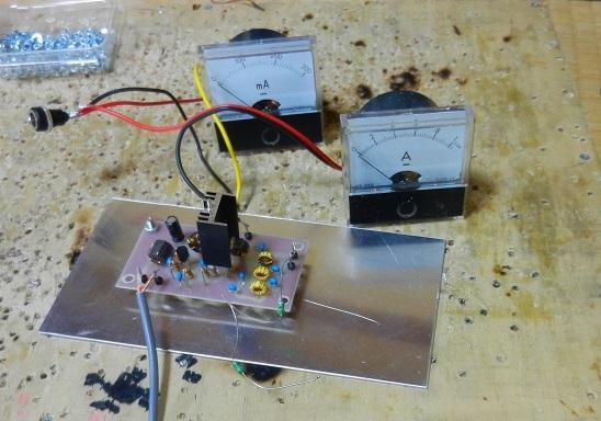 10.136MHz FT8送信機用2N3904ー2SC2314リニアアンプ基板の調整と実働試験_f0205744_16234499.jpg