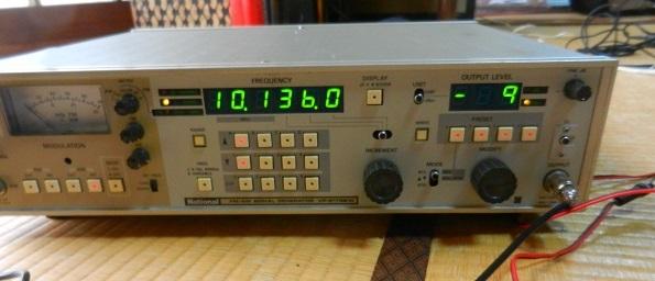 10.136MHz FT8送信機用2N3904ー2SC2314リニアアンプ基板の調整と実働試験_f0205744_16272077.jpg