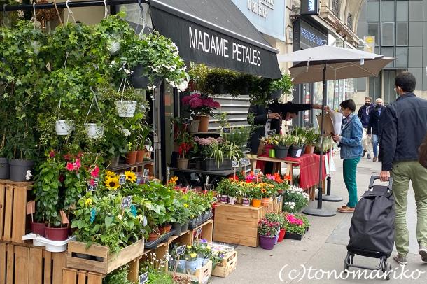 賑やかだったパリ。5月1日、スズランの日_c0024345_15553151.jpg