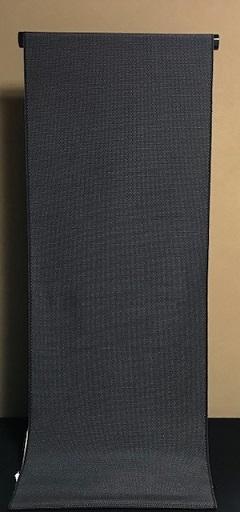 黒地に白の十字絣・本塩沢単衣+笹舟に撫子夏名古屋帯。_f0181251_20351535.jpg