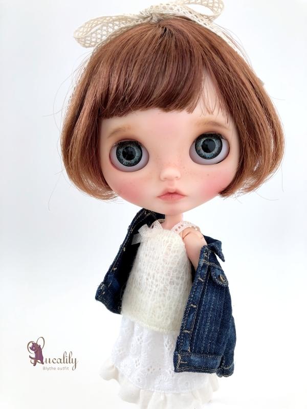 * lucalily * dolls clothes * Denim jacket set *_d0217189_14310588.jpeg
