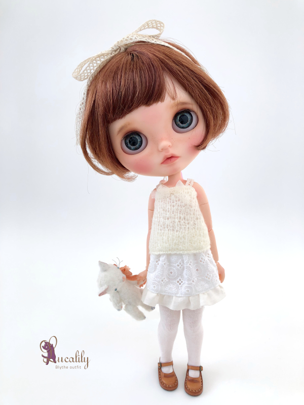 * lucalily * dolls clothes * Denim jacket set *_d0217189_14311444.jpeg