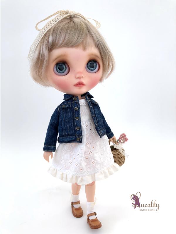 * lucalily * dolls clothes * Denim jacket set *_d0217189_14313771.jpeg