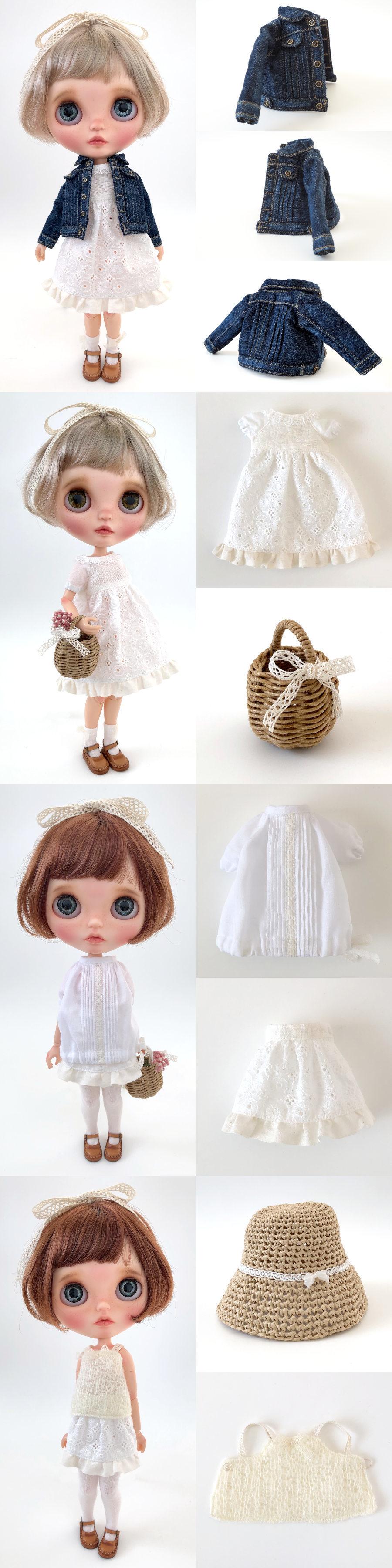 * lucalily * dolls clothes * Denim jacket set *_d0217189_14314869.jpg