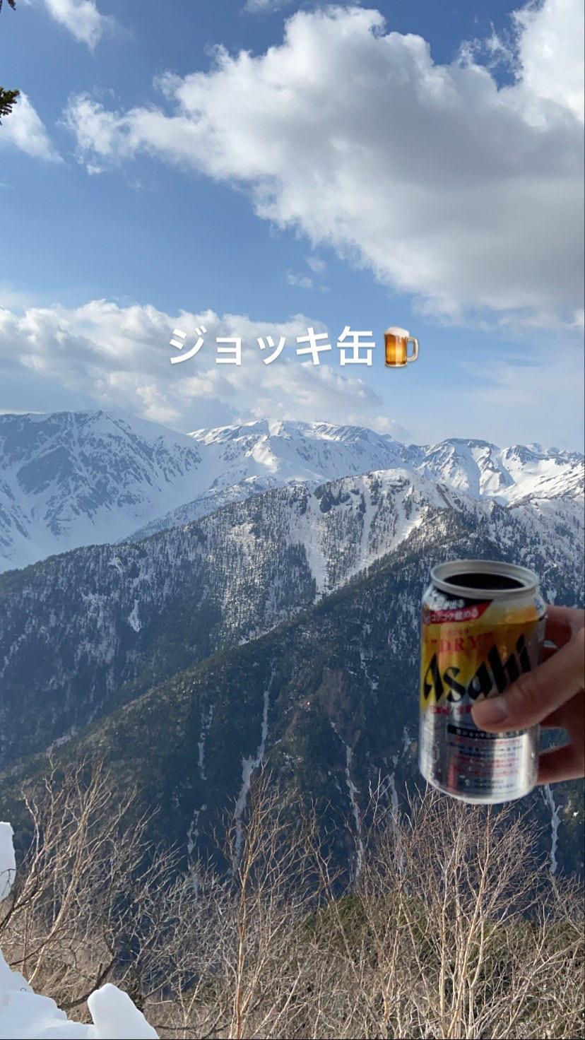涸沢岳西尾根_d0237801_19555355.jpeg