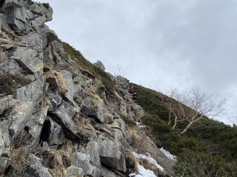 涸沢岳西尾根_d0237801_20025776.jpeg