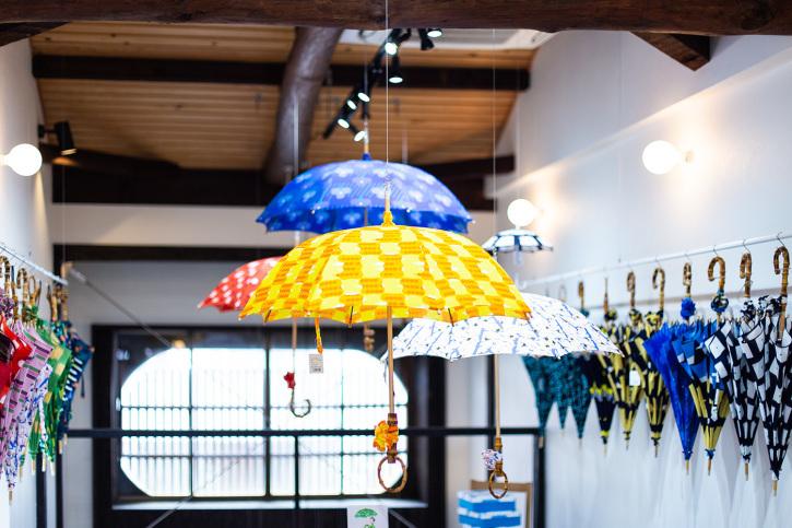 『アトリエ すずきの洋傘展〈atelier Suzuki parasol〉』青衣 あをごろも 京都店 2Fギャラリー_e0321916_14562795.jpg